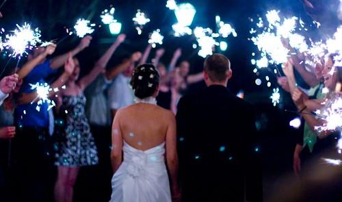 sparkler_tunnel wedding send off