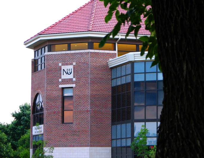 Newman University's Dugan Library and Campus Center