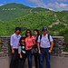 Family Portrait at Great Wall by techbhoy