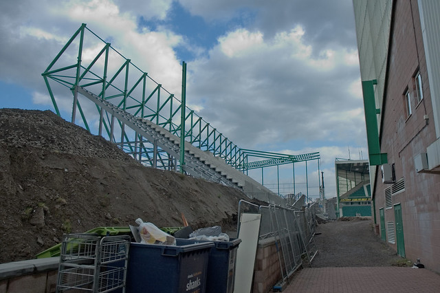 East Stand Construction 059