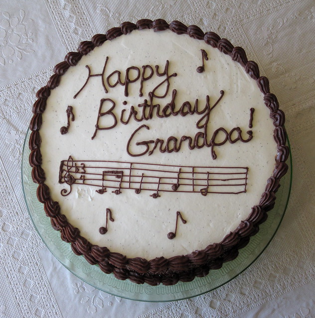 Grandpa Ralphs Birthday Cake  Flickr - Photo Sharing!