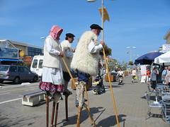 Landais en tenue traditionnelle
