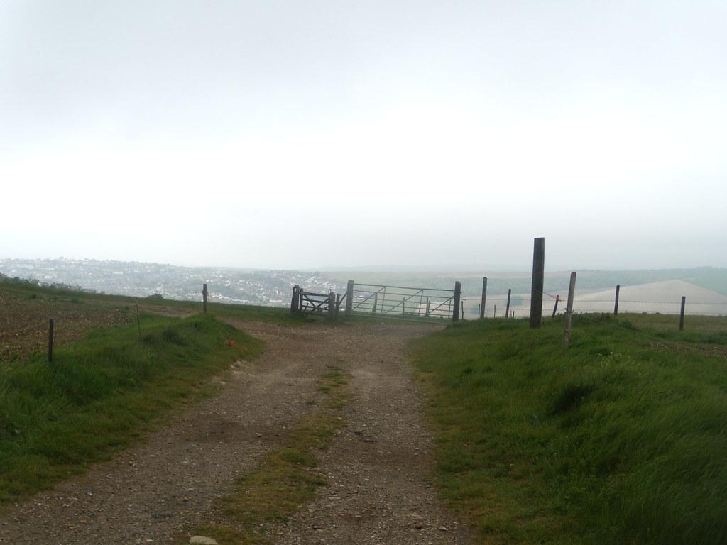 Gate near Saltdean Lewes via Rodmell (extension to Saltdean)