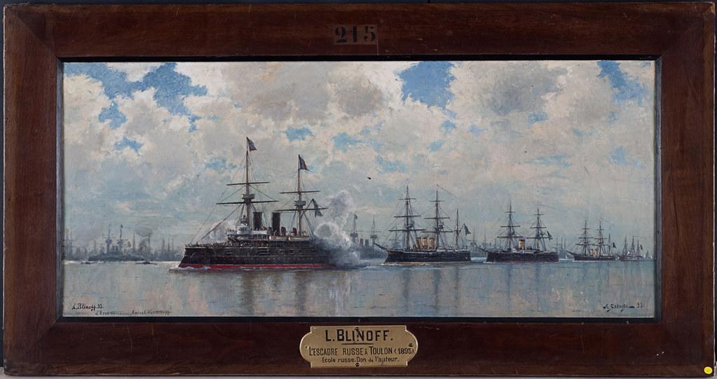 L'escadre russe à Toulon, 1893