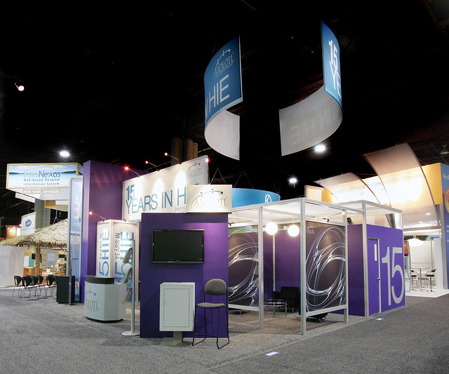 Custom Rental Exhibit Booth