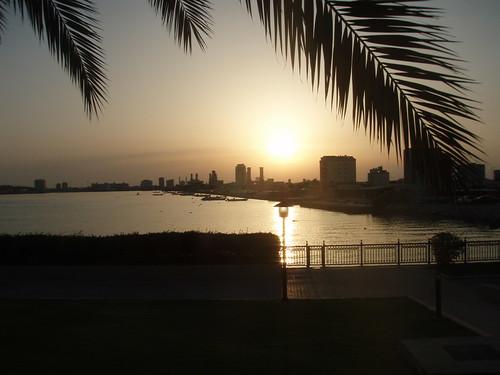 Ras al Khaimah at sunset