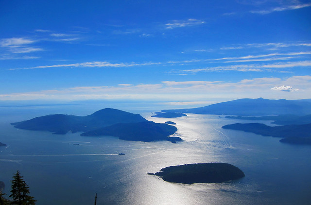 Howe Sound from St Mark's Summit
