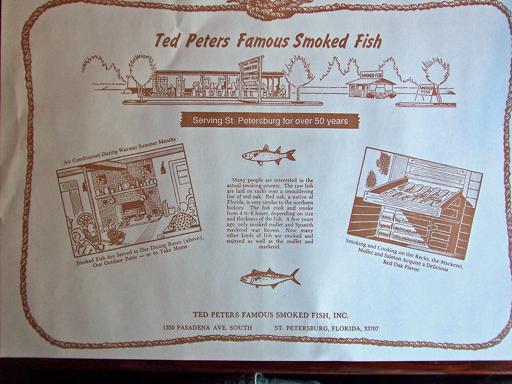 Diners drive ins dives ted peters famous smoked fish for Ted peters smoked fish