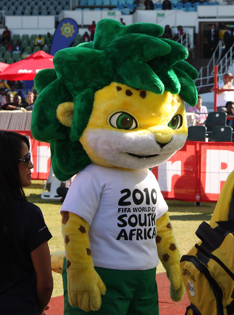 Zakumi, the 2010 FIFA World Cup South Africa™ official ...