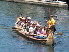 skiff(0.0), canoeing(0.0), dragon boat(0.0), raft(0.0), canoe(1.0), vehicle(1.0), sports(1.0), rowing(1.0), recreation(1.0), watercraft rowing(1.0), boating(1.0), water sport(1.0), watercraft(1.0), boat(1.0), paddle(1.0),