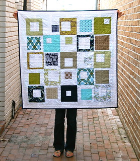Modern Meadow {x 2!} Baby Boy Quilt