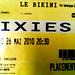 Pixies Bikini ticket