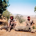 Shawn & Bob DeLong Pig Hunt