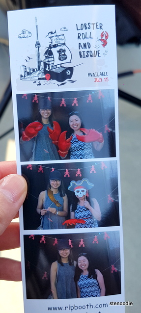 Pirate themed photobooth