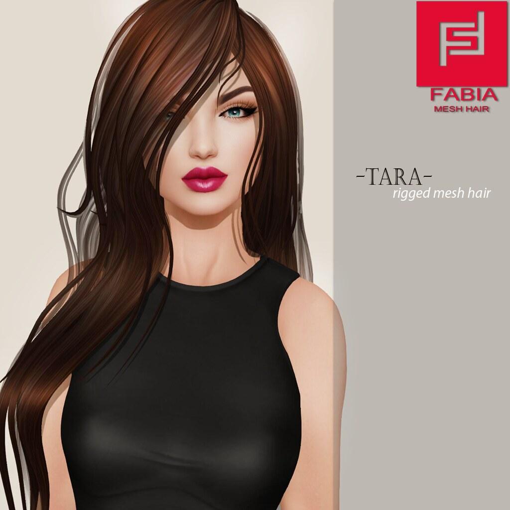 -FABIA- Mesh Hair   <Tara - SecondLifeHub.com
