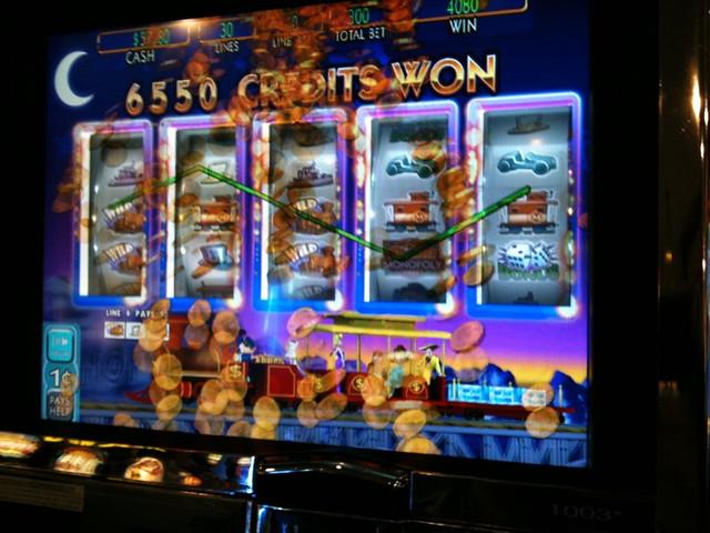 monopoly slot machine vegas