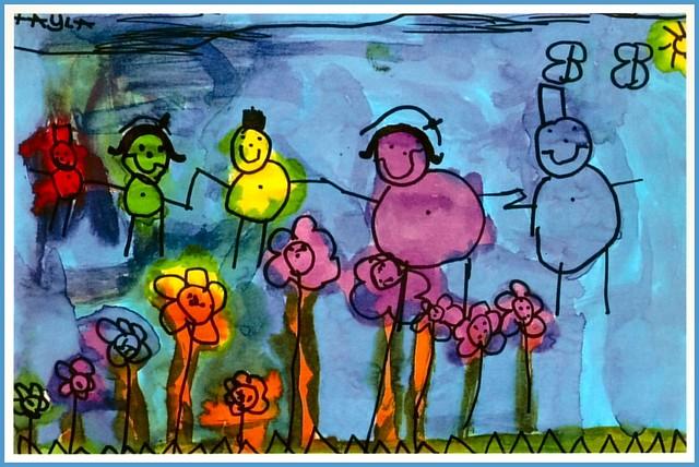 Tayla drew this