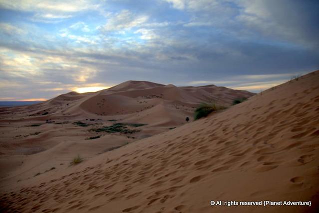 Sunrise - Erg Chebbi Dunes - Sahara Desert - Morocco