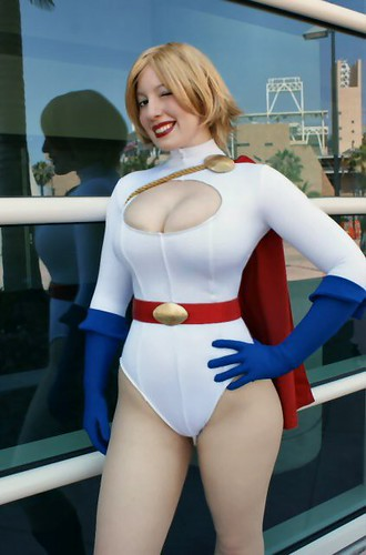 Power Girl - Wink!