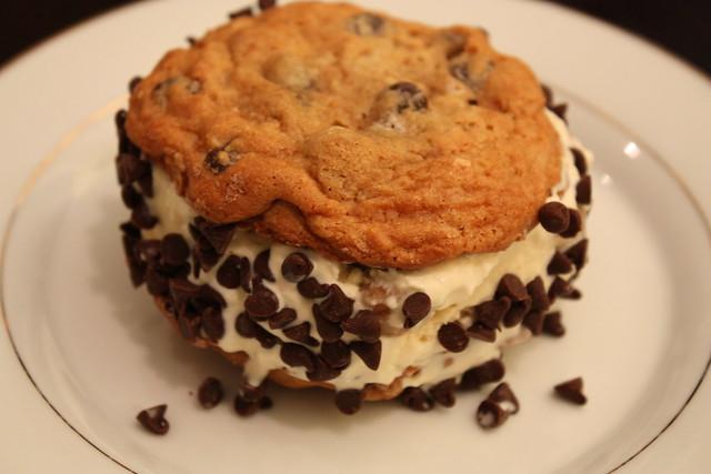 Chocolate Chip Cookie Dough Ice Cream Sandwich | Flickr - Photo ...
