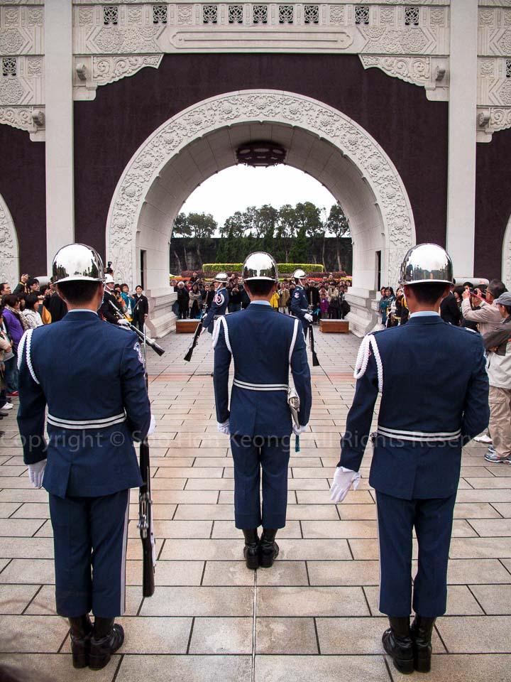 Change of Guard @ Martyrs Shrine Taipei, Taiwan