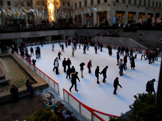 Tilt Shift: Rockefeller Center