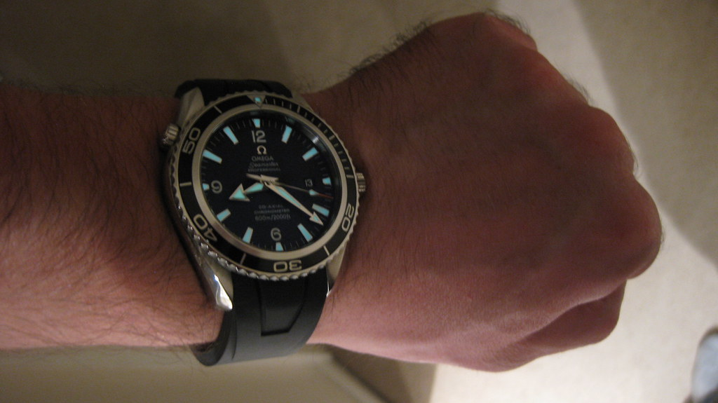 Omega Seamaster Planet Ocean Strap