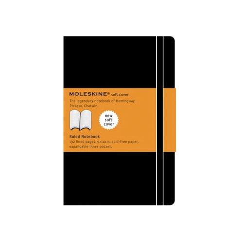 Moleskine Ruled Soft Notebook