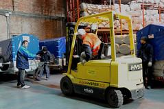 vehicle, transport, forklift truck,