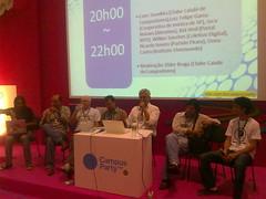 Campus Party 2010 - Debate: Compartilhamento ou Pirataria?