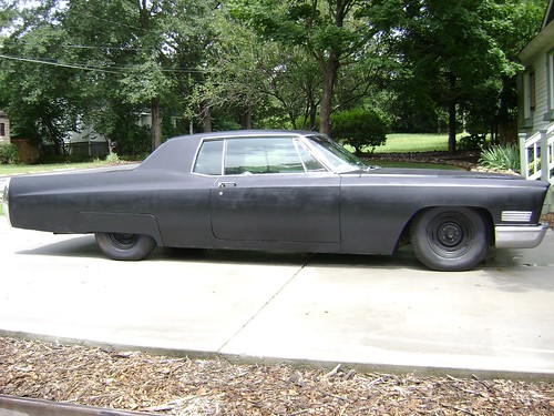1967 Murdered Out Cadillac Coupe Deville 1970 Lincoln