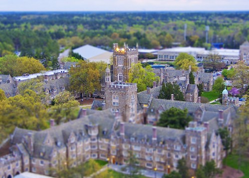 """Model"" of Duke University Campus"