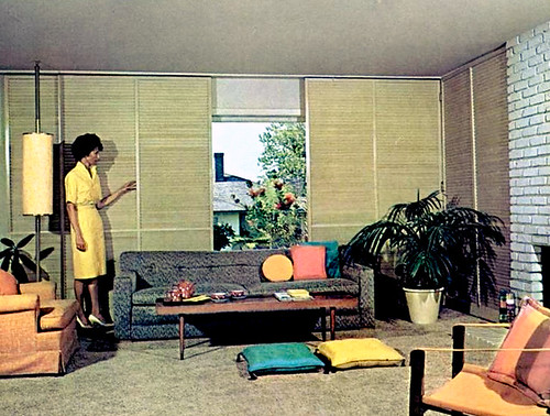 Mid century living living rooms 1960 65 for Interior design 1960s living room