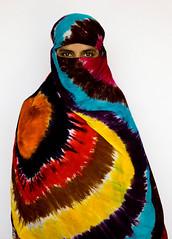 Coloured Burka