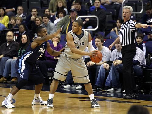 Georgetown v. Villanova basketball - 3