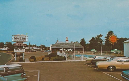 Wish you were hear colonial arms motel penns grove new for Oasis motors corpus christi