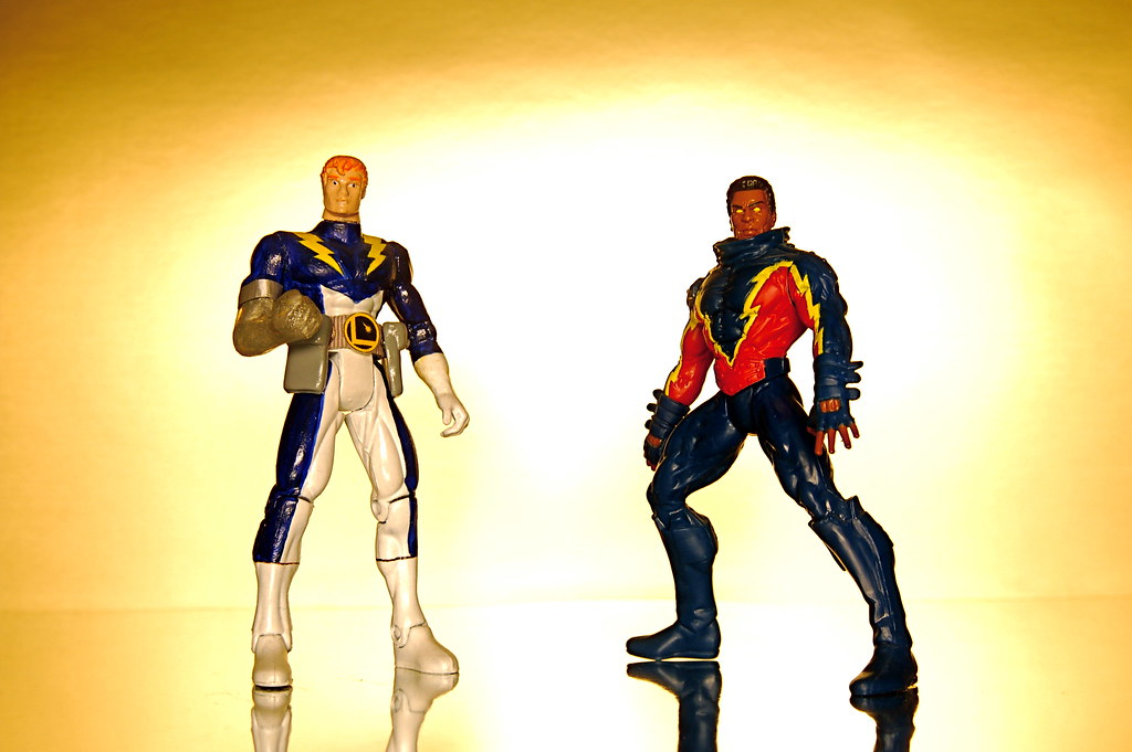 Live Wire vs. Black Lightning (50/365)