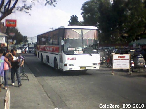 Philippine Rabbit Bus Lines 9065 Hino RF