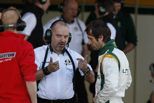 Mike Gascoigne and Jarno Trulli discuss the latest car issues