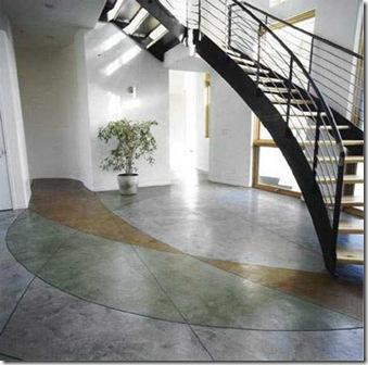 Pisos de cemento pulido - Como hacer un piso de hormigon lustrado ...