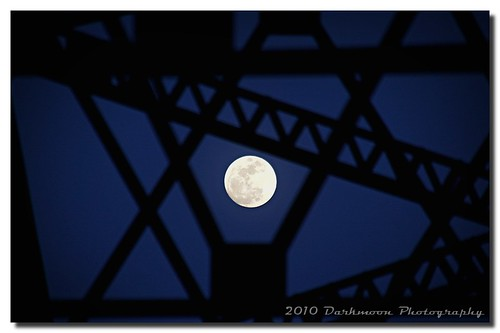 bridge moon oklahoma night iron availablelight steel shilouette