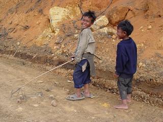 Montagnard Children near Dalat