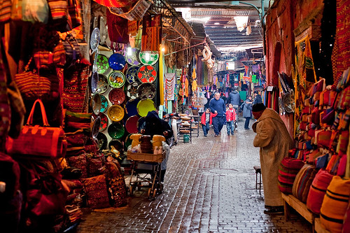 Morocco - Marrakech: Colour Palette