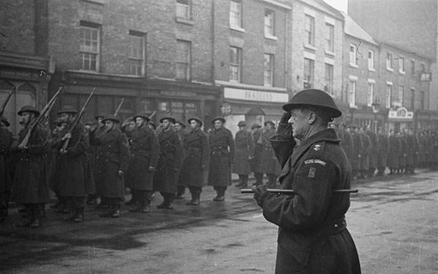 Home Guard stand-down, Welshpool