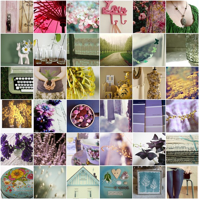 A few of my favourites from Poppytalk's Spring colours week, 2010 | Emma Lamb