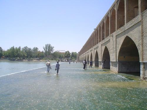 Ponte Si-o-se Pol em Isfahan