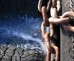 Chain and ice
