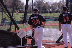 Nate McLouth and Martin Prado