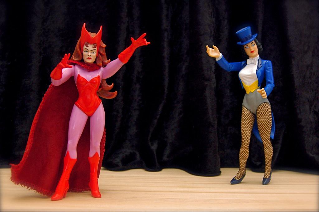 Scarlet Witch vs. Zatanna (76/365)