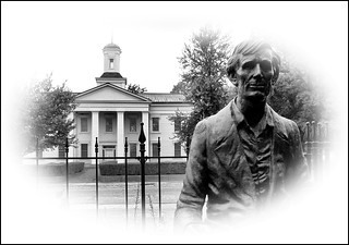 Vandalia Courthouse & Lincoln Statue